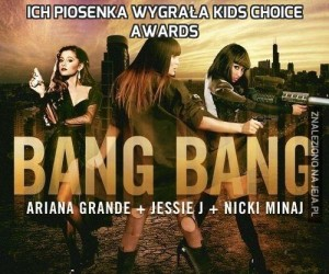 Ich piosenka wygrała KIDS Choice Awards