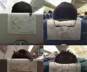 Co się dzieje w głowach pasażerów samolotu