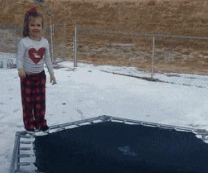 Zimowa trampolina
