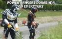 Power Rangers dorabiają do emerytury