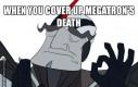 Kiedy już prawie zatuszowałeś śmierć Megatrona