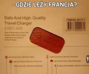 - Gdzie leży Francja?