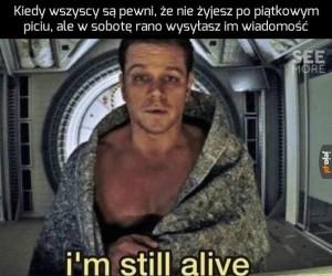 Ja wciąż żyje