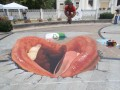 Iluzja na chodniku: Usta