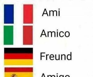 """""""Przyjaciel"""" w różnych językach"""