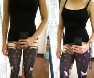Bioniczne legginsy