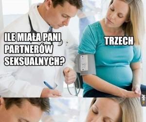 Tymczasem u ginekologa