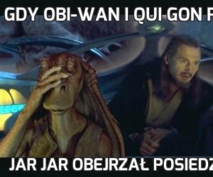 Gdy Obi-Wan i Qui Gon pilotowali