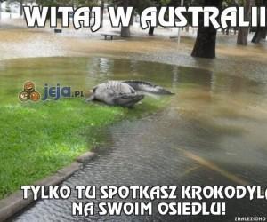 Witaj w Australii!