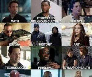 Gdyby bohaterowie Marvela byli nauczycielami