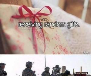 Dostawać prezenty-niespodzianki