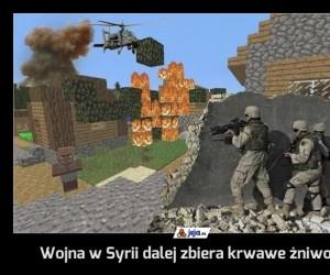 Wojna w Syrii dalej zbiera krwawe żniwo...