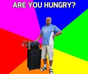 Are you hungry?