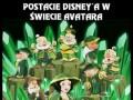 Postacie Disney'a w świecie Avatara