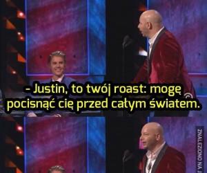 Roast Justina Biebera!