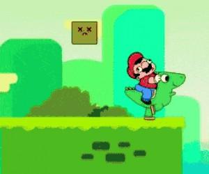 Mario myśli tylko o sobie. Nic nowego.