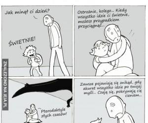 Życie nie lubi optymistów