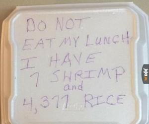 Nie jedz mojego lunchu
