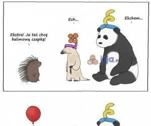 Balonowa czapka