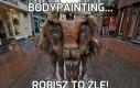 Bodypainting...