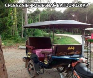 Chcesz się przejechać Batdorożką?