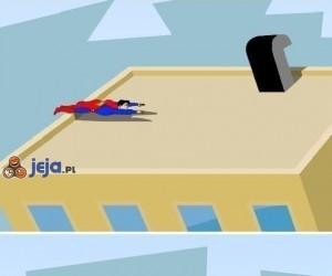 Ups, Supermanie, uważaj gdzie latasz!