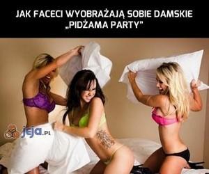 Damskie pidżama party