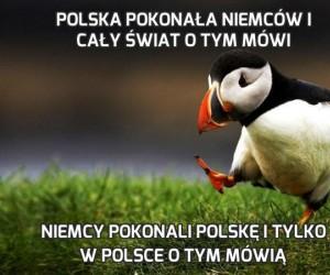 Polska pokonała Niemców i cały świat o tym mówi