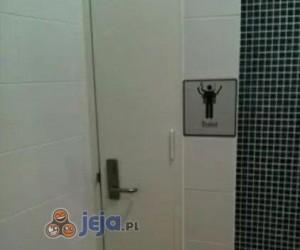 Specjalne drzwi w łazience