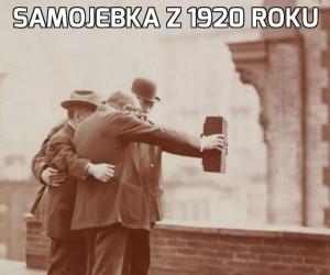 Samojebka z 1920 roku