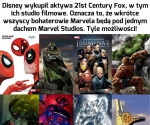 Udało się! Zjednoczony Marvel!