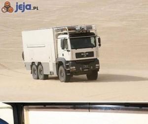 Niesamowita ciężarówka