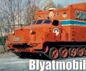 Czym jeździ Blyatman
