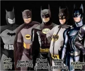 Kolejni aktorzy wcielający się w Batmana