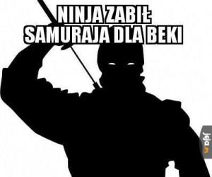Ninja chciał tylko zaimponować Beki
