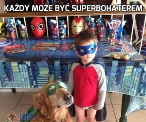 Każdy może być superbohaterem