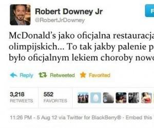McDonald's jako oficjalna restauracja igrzysk