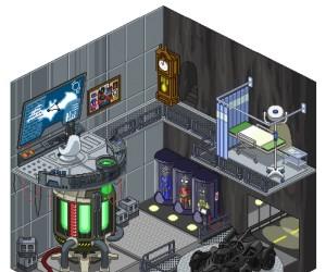 Batcave w pikselowej wersji