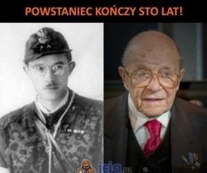 Powstaniec kończy 100 lat