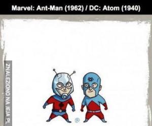 Podobni bohaterowie w komiksach Marvela i DC