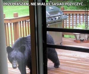 Przepraszam, nie miałby sąsiad pożyczyć...
