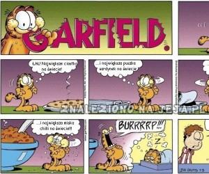 Garfield i największe jedzenie