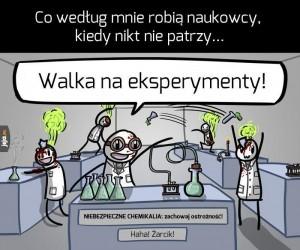 Tymczasem w jakimś podziemnym laboratorium...