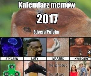 Zgadzacie się z tym kalendarzem?