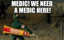 Potrzebujemy medyka!