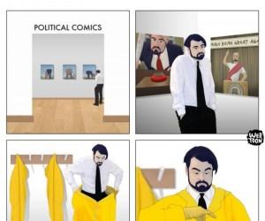 Polityczne obrazki takie są