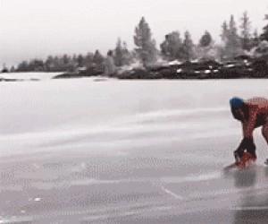 Dawaj, wytniemy lodowisko