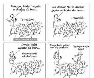 Poprawność polityczna zabija humor - miejmy dystans!