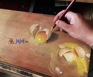 Realistyczne malowidła na desce