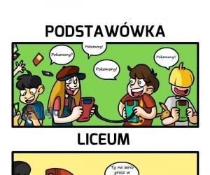 Pokemonowe życie